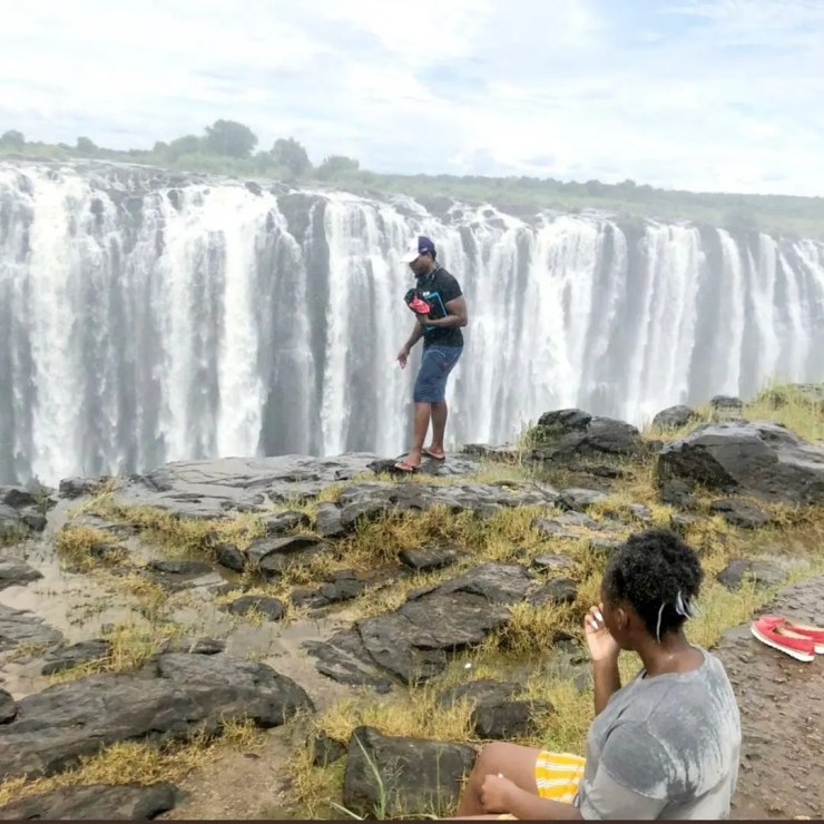 Tinashe tourist who fell in Vic falls