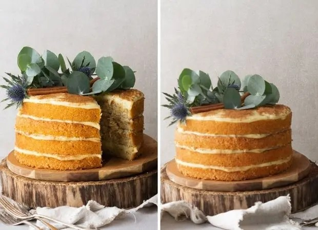 Milk tart layer cake – Recipe