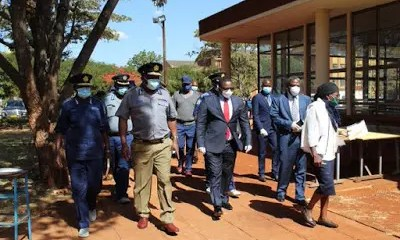 Chaos at Mkoba Teachers' College