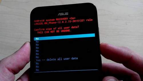 How to Format an Android Phone Asus Zenfone 2
