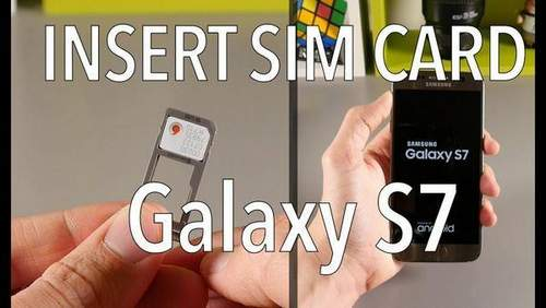 Install Sim Card On Samsung Galaxy S7