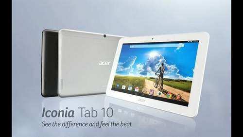 What is the difference between the Acer Iconia Tab
