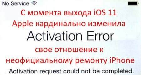 iPad Air 2 Activation Failed