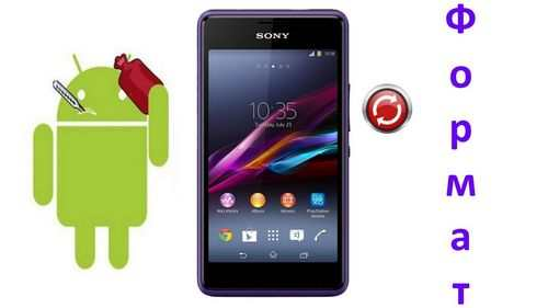 How To Format Sony Xperia Phone