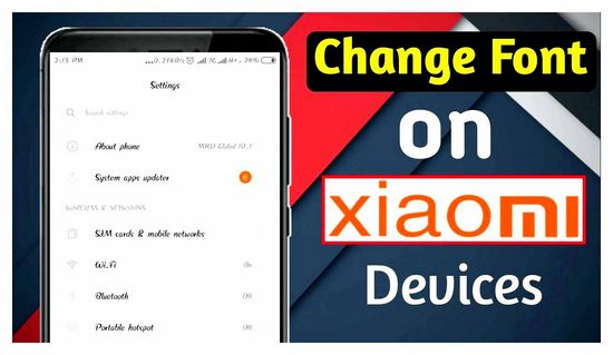How to Change Font on Xiaomi Phone