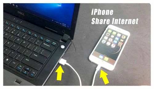 How To Share Internet From iPhone Via Cable