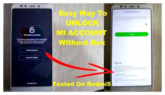 How to Unlock Xiaomi Without Knowing the Password