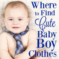Where to Find Cute Baby Boy Clothes - MBA sahm