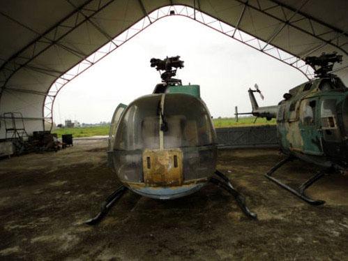 El estado de los MBB Bö-105 nigerianos (1/3)