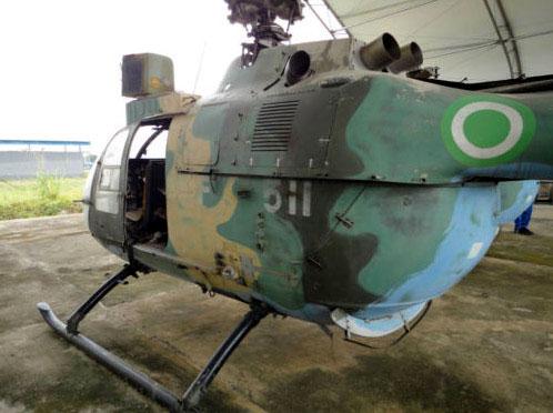 NIGERIAN AIRFORCE Bo 105