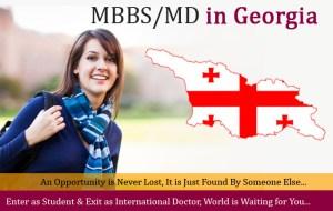 mbbs md in georgia