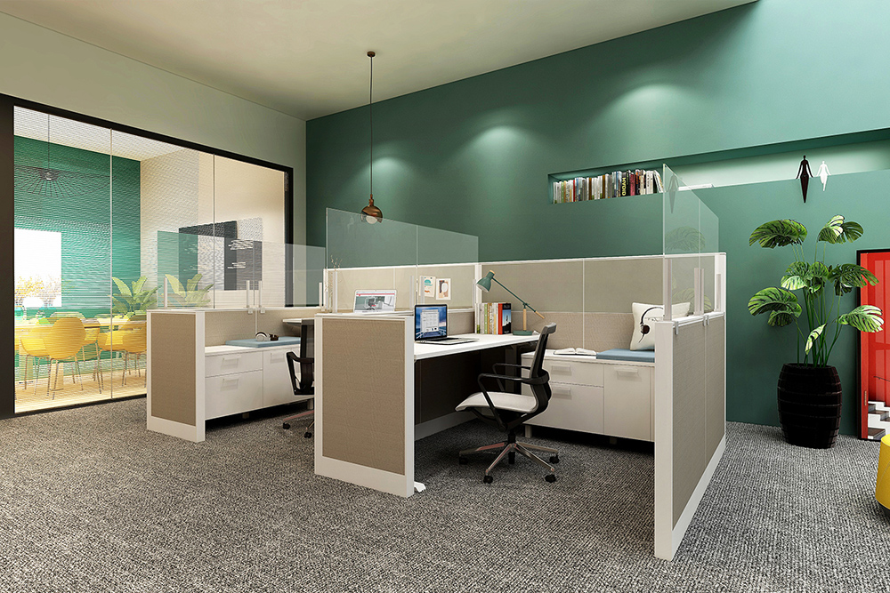 Screens for existing cubicles
