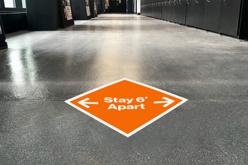 Takeform Floor Decal