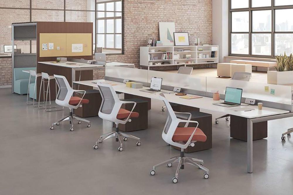 White task chair