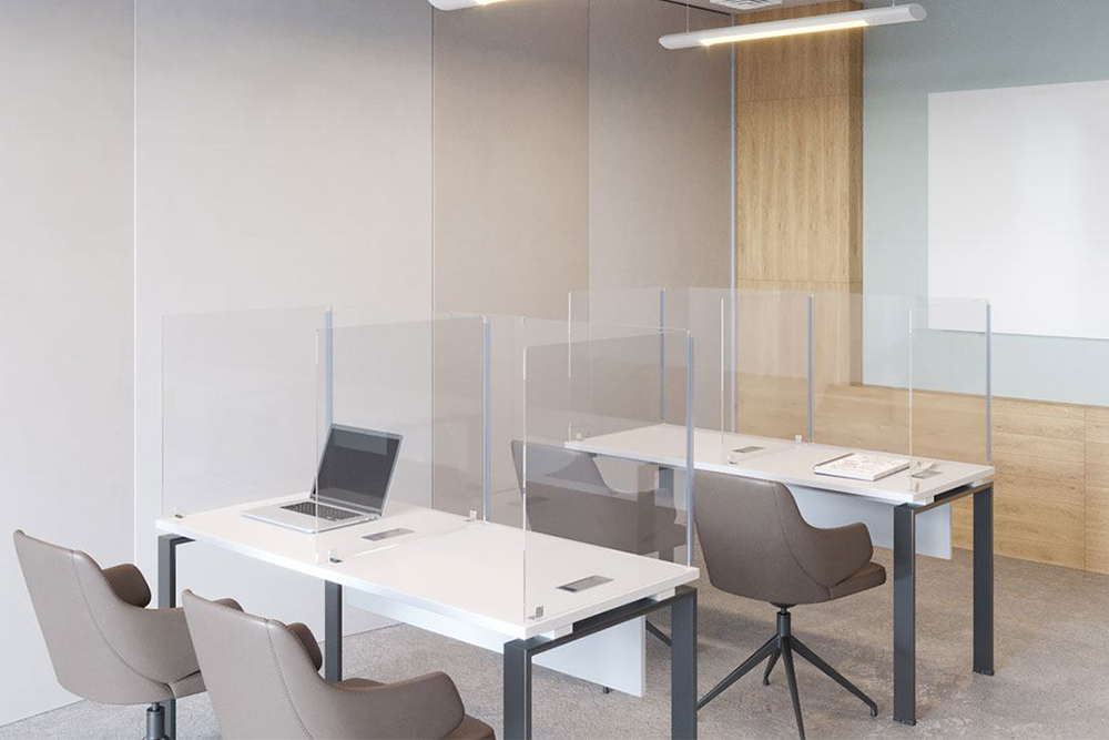 Training room with individual tables