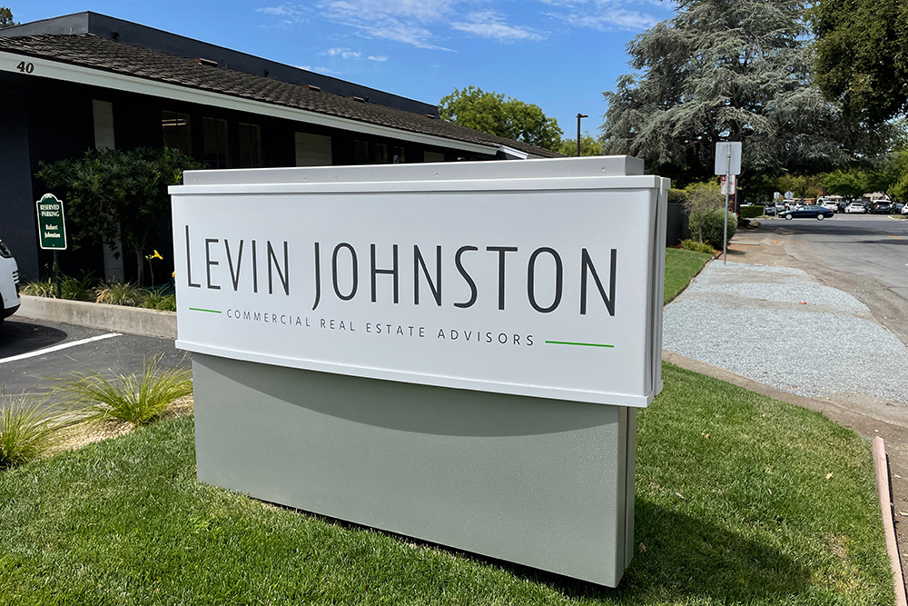 Levin Johnston Outdoor Sign