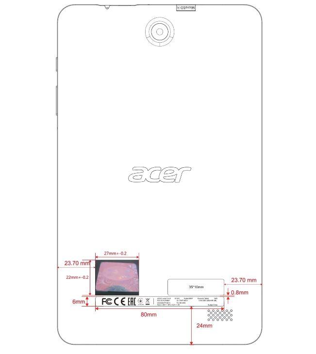 Ультрабюджетный восьмидюймовый планшет Acer Iconia One 8