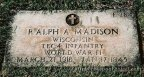 Tec /4 Madison's headstone