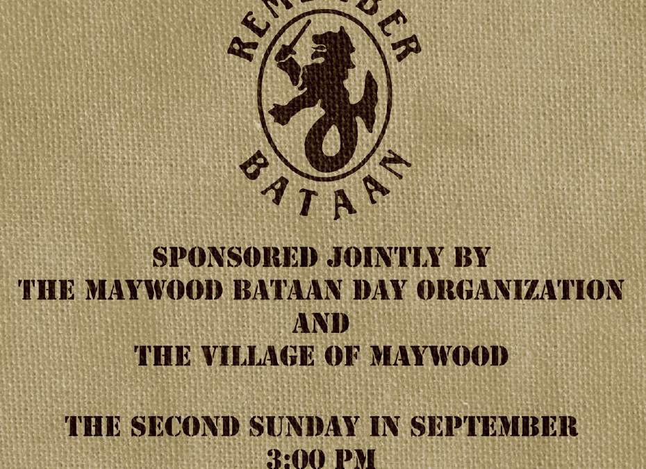 Maywood Bataan Day Booklet and Programme