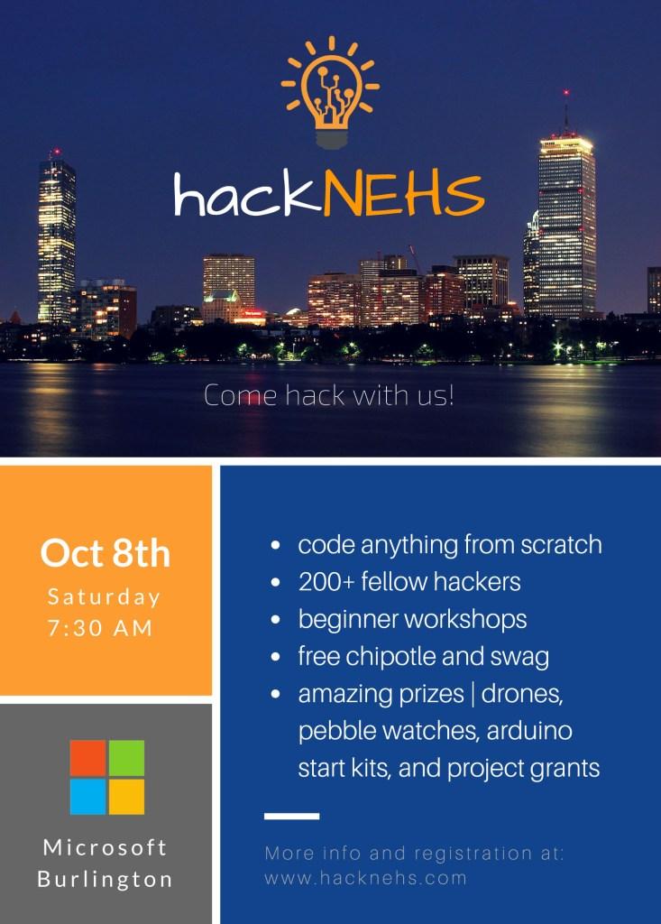 hackNEHS Flyer