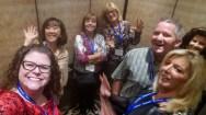 Elevator selfie!