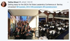 DECA students attend Fall State Leadership Conference