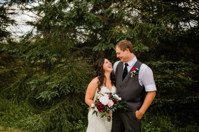 Zak + Katy // Backyard Wedding