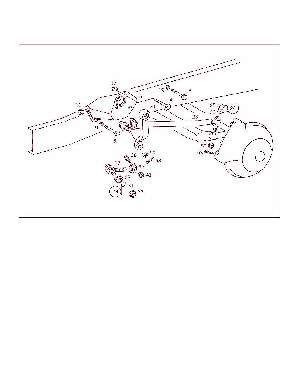 hight resolution of 360 steering support steering arm and drag link
