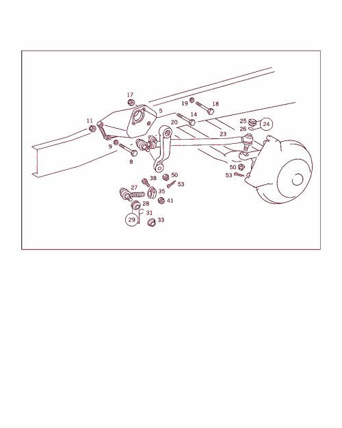 small resolution of 360 steering support steering arm and drag link