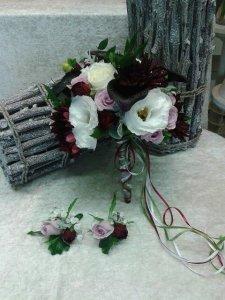 MB Eventi in fiore a Roma è il regno dei fiori e delle piante - Bouquet da Sposa 756