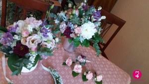 MB Eventi in fiore a Roma - Bouquet e accessori da sposa 19