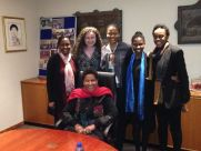 At the Dr Phumzile Mlambo Ngcuka Mentor Event