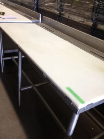 Stainless Steel Prep Table With Sink