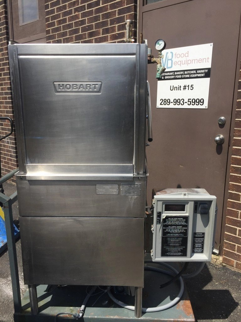 Hobart AM14 Commercial Pass Thru High Temp Dishwasher