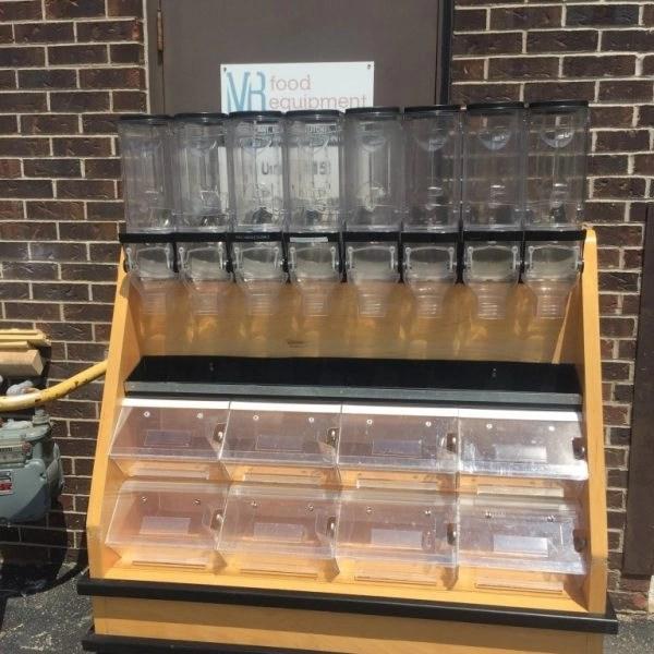 Bulk Food Dispenser Display  MB Food Equipment