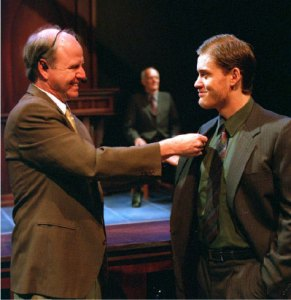 Ron Reed (l) in God's Man in Texas Photos: courtesy Pacific Theatre