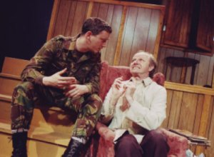 Ron Reed (r) in The Foreigner Photos: courtesy Pacific Theatre