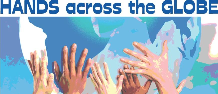 Hands-across-the-globe