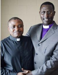 Theo Muthumwa (left) and Shadrack Mutabazi (right) Photo: Matthew Veith