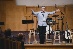 Eastview, Winnipeg, pastor Delbert Enns