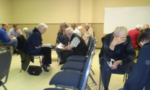Central Heights Church's weekly prayer group.
