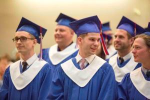 CBC graduation 2015 (Max Harwood center)