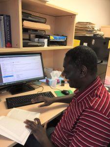 Reviewer Arisnel Mesidor works as migration coordinator for MCC Manitoba
