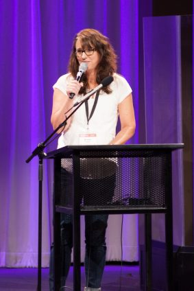 TED-style talk presenter Kristal Toews