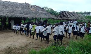 batwa schoolchildren
