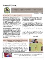 MHA Newsletter – February 2019 Issue