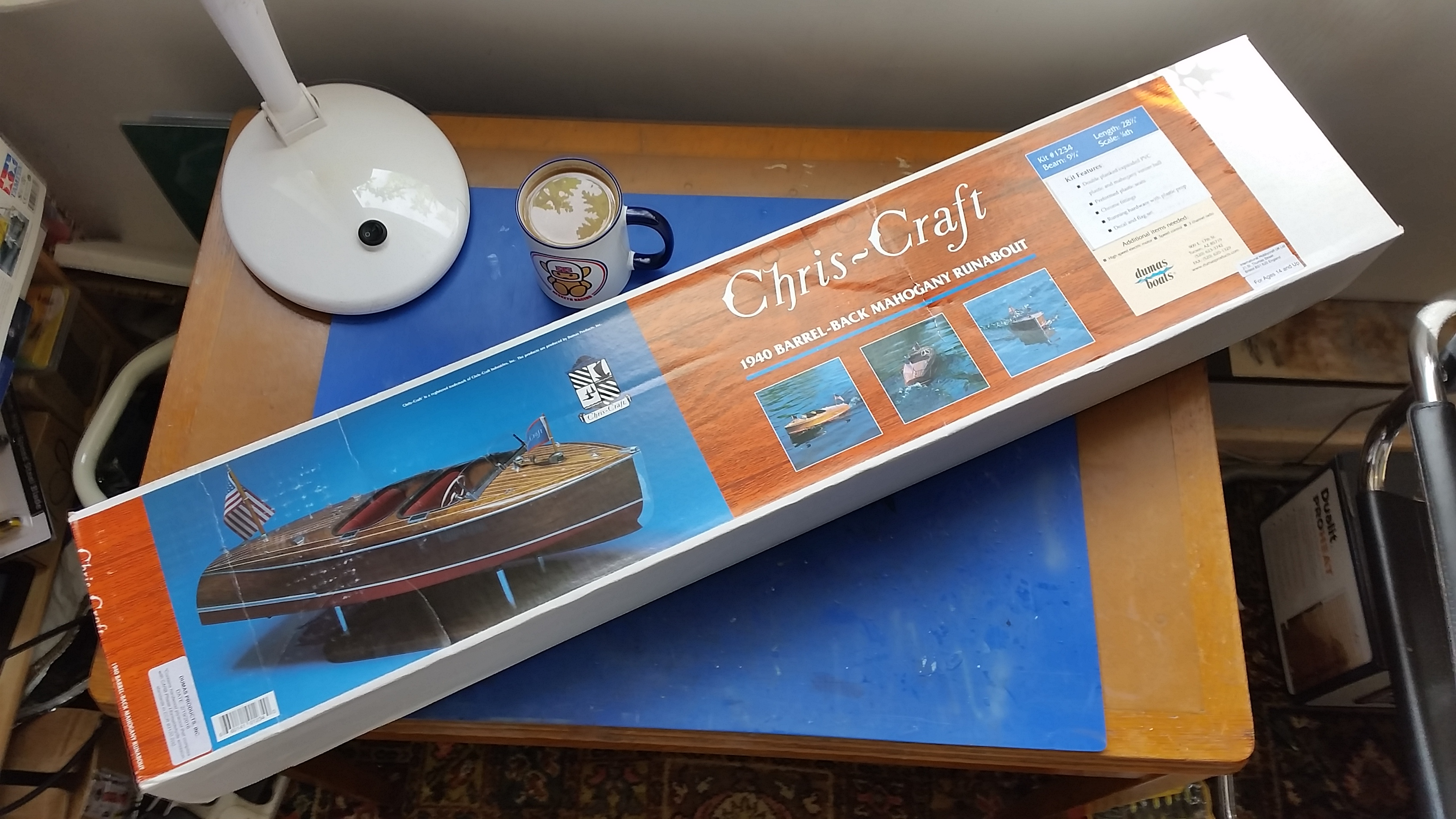 hight resolution of chris craft 19ft 1940 barrel back u2013 dumas 1 8 part 1 mbiq
