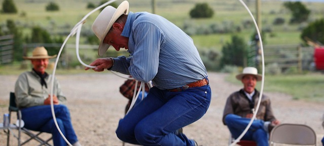 Cowboy Jesus Gets a Fresh Pair of Gloves: The Gospel According to Buck