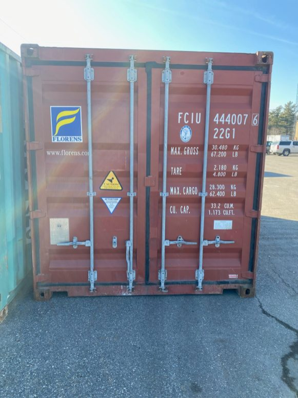 Multiple 20' Standard Height Containers