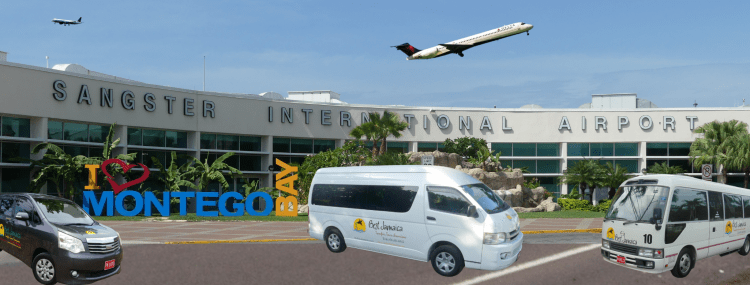 Montego Bay Airport Private Transfers.